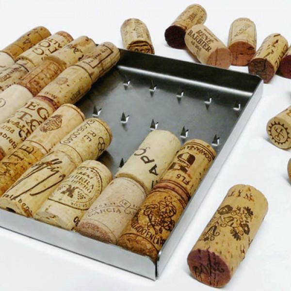 ecodesign, bakus trivet, onderzetter van kurken, origineel relatiegeschenk, wijngeschenk, kerstpakket, groen relatiegeschenk