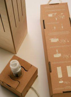 ecodesign, origineel relatiegeschenk, Cavallum wijnverpakking, wijndoos, Cavallum winelamp, origineel relatiegeschenk